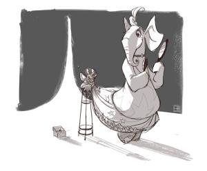 Granny + Elephant