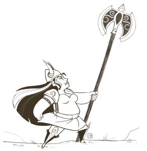 barbarian woman 2